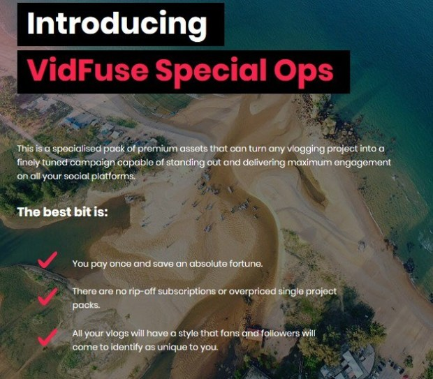 Vidfuse Special Ops Pack Upgrade By Walt Bayliss