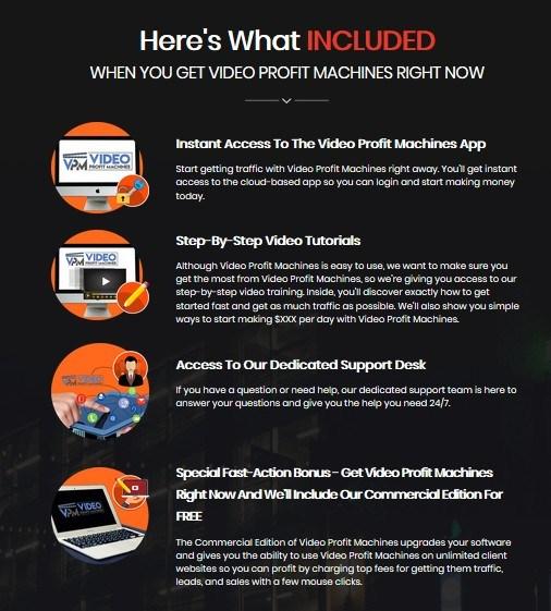 Video Profit Machines Reviews – Jvzoo Best Review