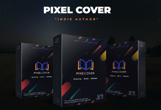PixelCover V2 Indie Author Series by Maghfur Amin