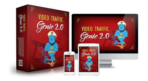 Video Traffic Genie VTG 2.0 Pro Software by Joshua Zamora